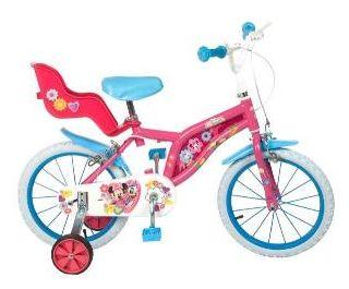 """Toim - Bicicleta 14"""" Mickey Mouse Club House Fete"""