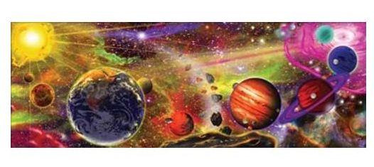 Melissa&Doug - Puzzle de podea Sistemul Solar 100 piese