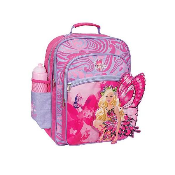 BTS - Rucsac copii Barbie Mariposa cu buzunare