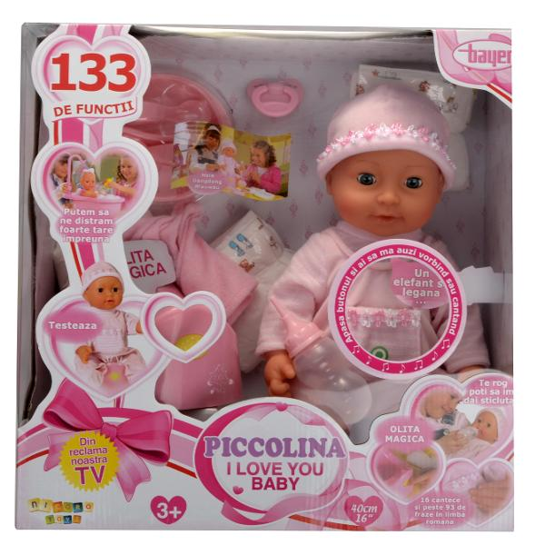 Bayer - Papusa Picollina I Love You Baby