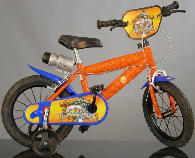 Dino Bykes - Bicicleta Skylanders 16