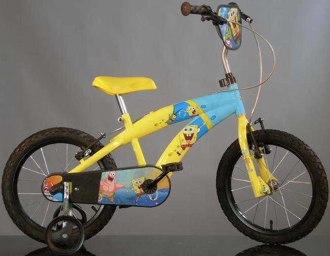 Dino Bykes - Bicicleta Spongebob 16