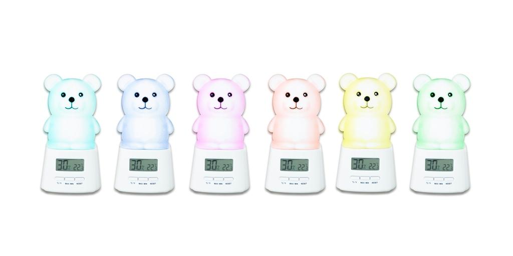 Nuvita - Lampa de veghe si termometru cu higrometru