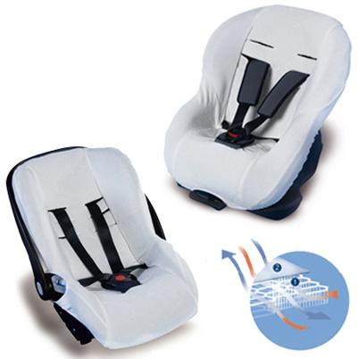 AeroSleep - Husa antitranspiratie pentru scaun auto