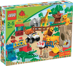 Lego - Duplo Gradina Zoologica