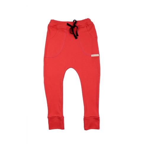 Funky Kids - Pantaloni bumbac Red