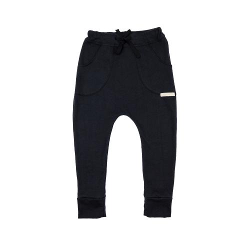 Funky Kids - Pantaloni bumbac organic Black