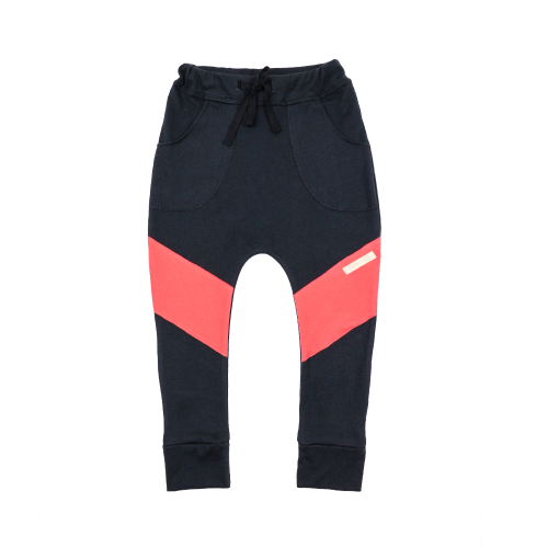 Funky Kids - Pantaloni bumbac organic Diagonal