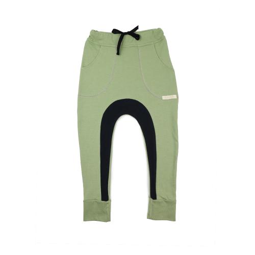 Funky Kids - Pantaloni bumbac organic Green