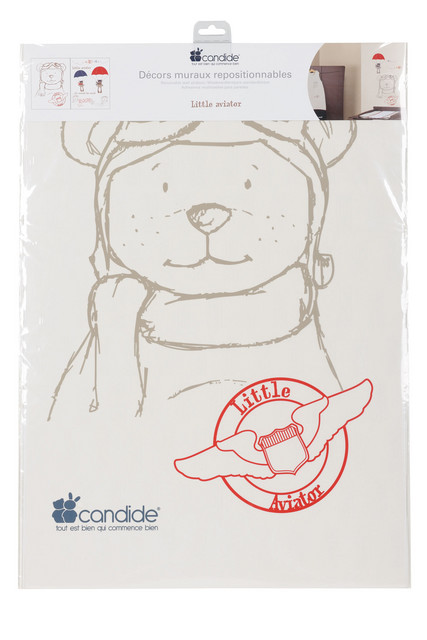 Candide - Sticker de perete Little Aviator