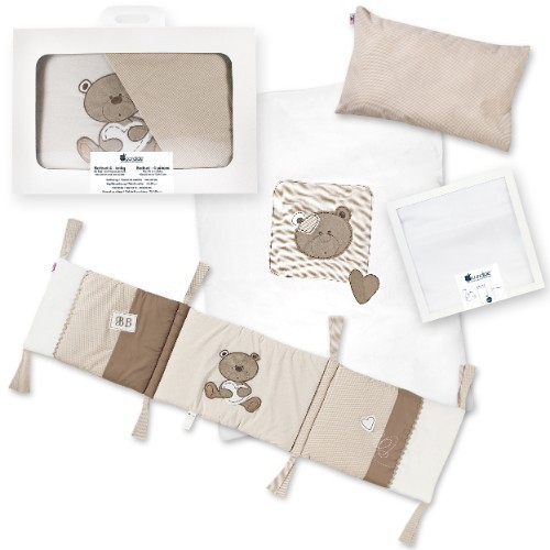 Candide - Set lenjerie patut 4 piese Bebe Tradition