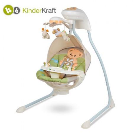 KinderKraft - Leagan Teddy Bear cu conectare la priza