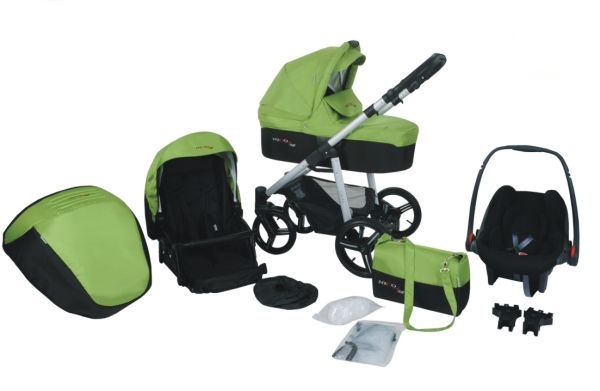 Bebetto – Carucior 3 in 1 Nico Plus