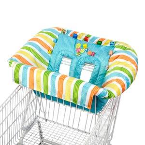 Bright Starts - Husa scaun de masa Tag n Go Cart Cover