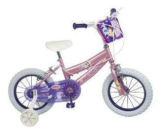 "Toim - Bicicleta 14"" Disney Princess"