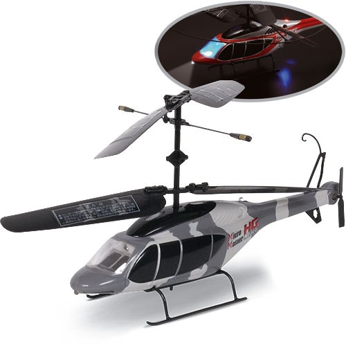 Nikko - Elicopter HG Light Militar RC