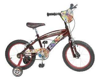 "Toim - Bicicleta 16"" Bakugan"