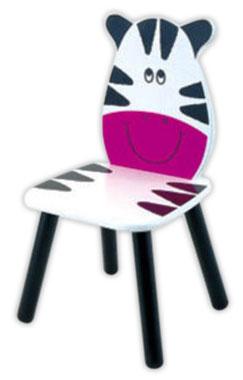 Galt - Scaun cu spatar figura zebra