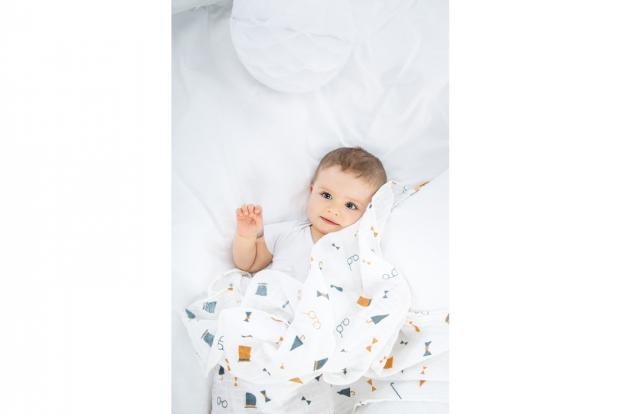 Babymoov - Paturica din muselina cu design