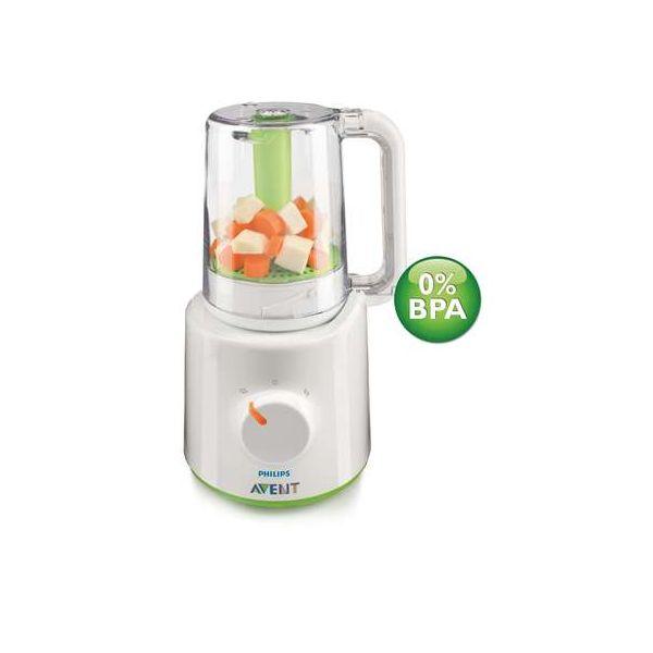 Philips Avent - Aparat de gatit cu aburi si blender 0%BPA