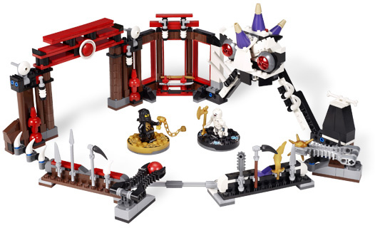 Lego - Ninjago Arena de lupta