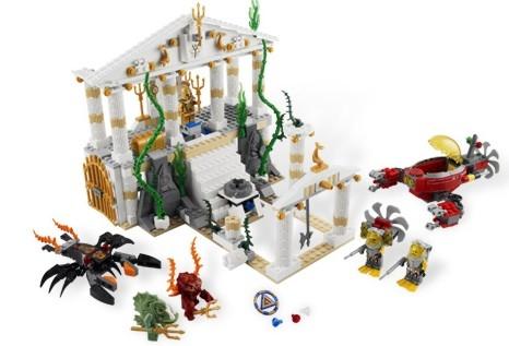 Lego - Atlantis Orasul Atlantidei