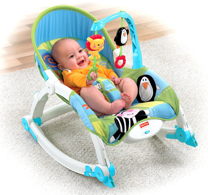 Fisher Price - Balansoar 2 in 1 Deluxe Discover & Grow