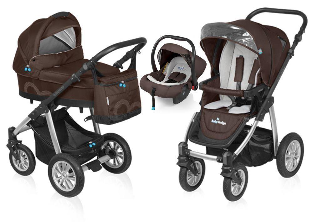 Baby Design - Carucior 3 in 1 Lupo Comfort
