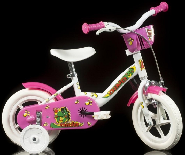 Dino Bykes - Bicicleta cu maner pentru parinti