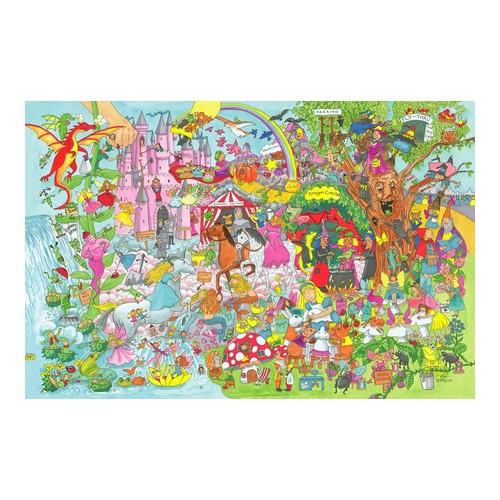 Big Jigs - Puzzle Fantasy Land 24 piese
