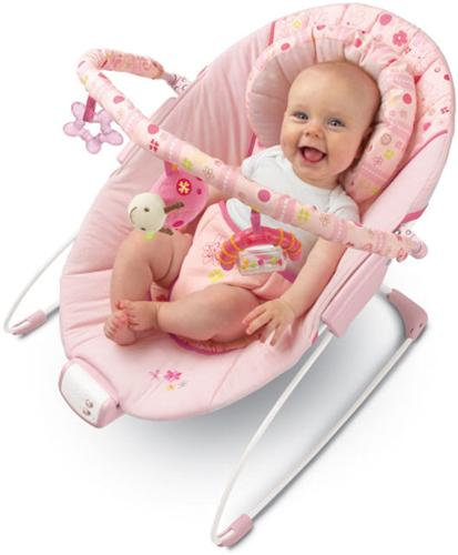 Bright Starts - Pretty In Pink Melodies Bouncer