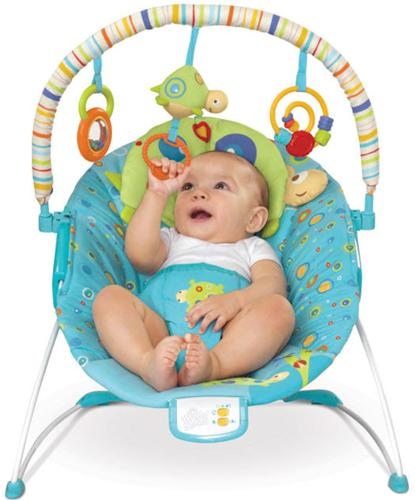 Bright Starts - Teensy Turtle Cradling Bouncer