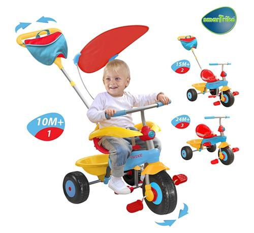 Smart Trike - Tricicleta 3 in 1 Candy