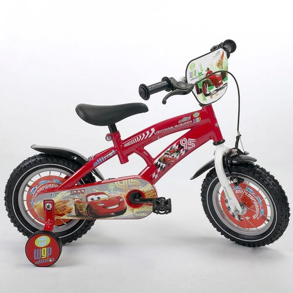 Ironway - Bicicleta copii Disney Cars 12