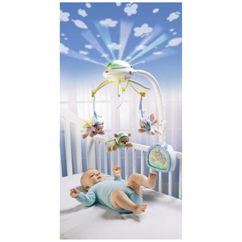 Fisher Price - Carusel cu proiector Butterfly Dreams