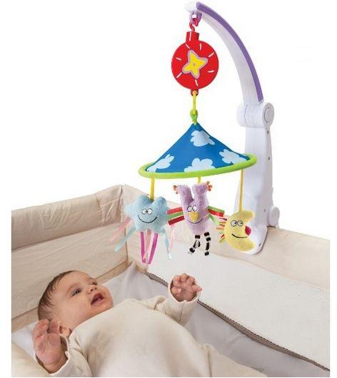Taf Toys - Carusel muzical pliabil Calatorie placuta