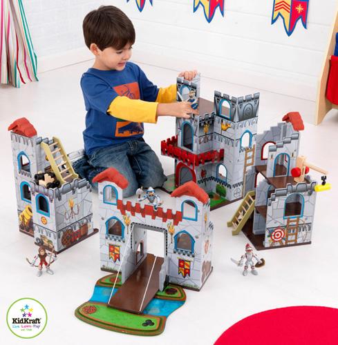 Kid Kraft - Set de joaca Castel cu figurine