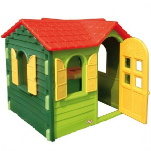 Little Tikes - Casuta Evergreen verde