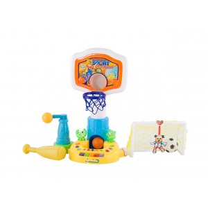 Chipolino - Set de jucarii Basketball/Fotball/Baseball