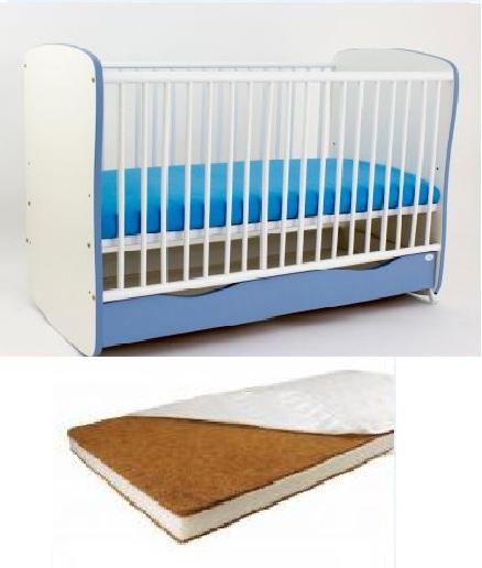Bebe Design - Patut Clasic Confort  Saltea  Lenjerie