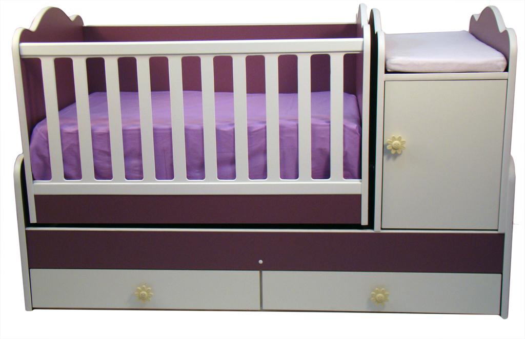 Douceur - Patut mobilier cu balansoar Combi