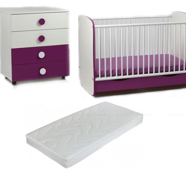Bebe Design - Patut Clasic Confort  Comoda  Saltea