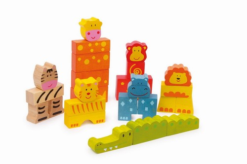 Legler - Cutie cuburi Safari