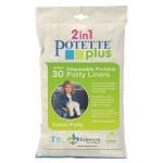 Potette Plus - Set 30 pungi pentru olita portabila