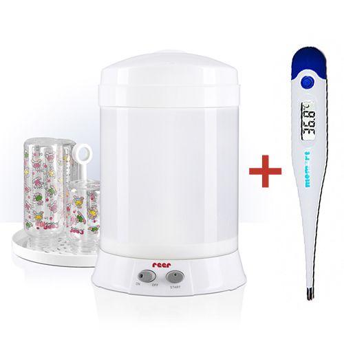 Reer - Sterilizator biberoane Easy Clean Confort + Termometru Cadou
