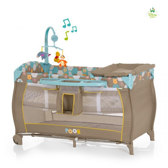 Hauck - Patut pliabil Babycenter Pooh Spring In The Wood