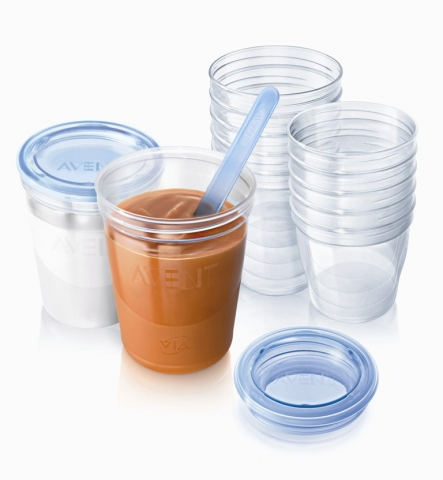 Philips Avent - Set Baby Gourmet VIA Avent