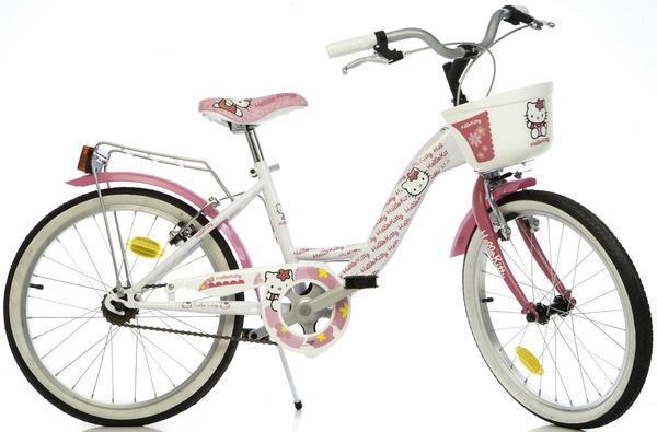 Dino Bikes - Bicicleta Hello Kitty 20