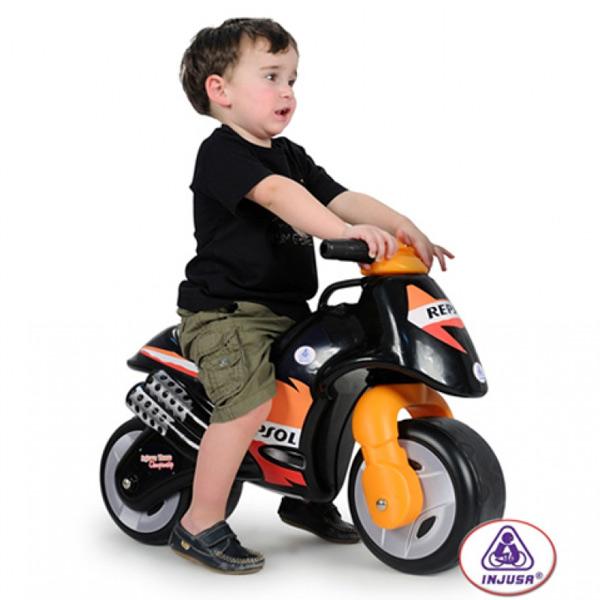 Injusa - Bicicleta fara pedale Repsol Neox