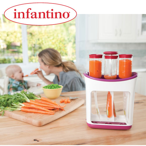 Infantino - Dispozitiv stocare mancare Fresh Squeezed
